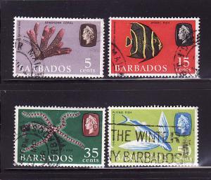 Barbados 271a, 275a, 277a-278a U Marine Life