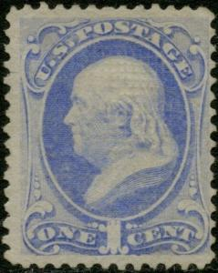 #134 VF UNUSED WITH PSE CERT CV $700.00 BP5171