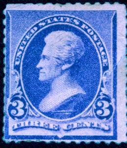 United States #221 MH Fine strong colors