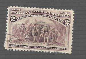 United States 1893 - Scott #231 *
