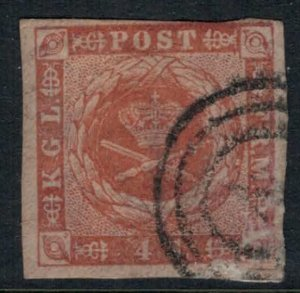 Denmark #4a CV $15.00