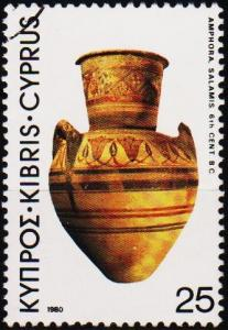 Cyprus. 1980 25m S.G.547 Fine Used