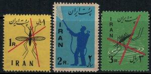 Iran #1156-8*  CV $10.00 Malaria control