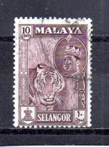 Malaya - Selangor 119 used