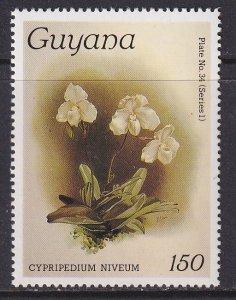 Guyana (1985) #1064 MNH; Orchid
