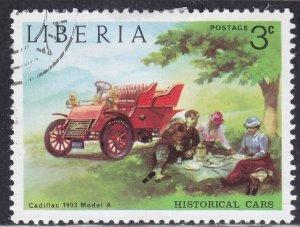 Liberia 648 Historical Cars 1973