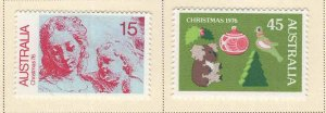 AUSTRALIA Scott 649-650 MH* stamp set