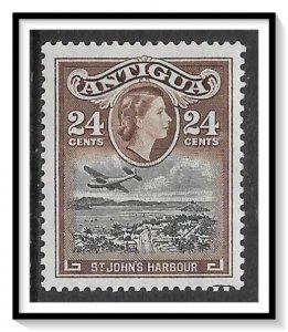 Antigua #116 QE II & Harbour MH