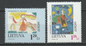 Lithuania 1997 CEPT Europa 2 MNH Stamps