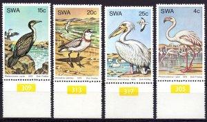 Southeast Africa. 1979. 458-61. Birds fauna. MNH.