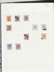 hong kong stamps page ref 17389