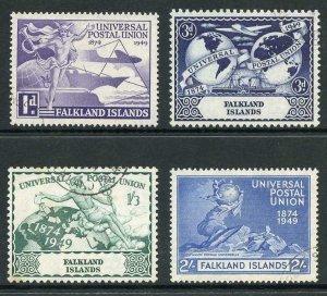 Falkland Is SG168/71 1949 UPU Set of 4 Superb Used