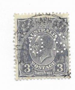 Australia #OB72 Used - Stamp - CAT VALUE $6.50