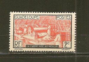 Guadeloupe 97 Sugar Mill Mint Hinged