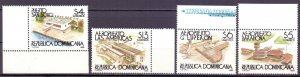 Dominican Republic. 1995. 1744-47. Airport. MNH.