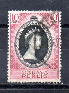 Malaya - Perlis 28 used