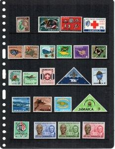 Jamaica  MNH  lot of 23
