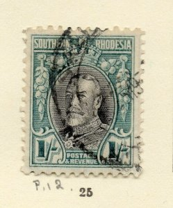Southern Rhodesia 1930s Early Issue Fine Used 1S. NW-170467
