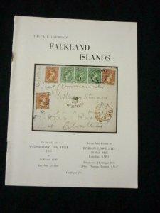 ROBSON LOWE AUCTION CATALOGUE 1965 FALKLAND ISLANDS THE 'A L LOVIBOND'