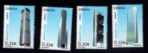 SPAIN Scott 3667a-d MNH** single from souvenir sheet