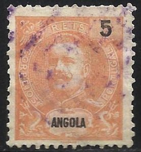 Angola 1898 Scott# 39 Used