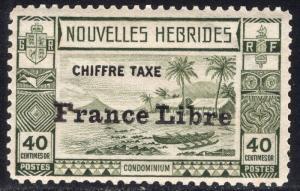 NEW HEBRIDES-FRENCH SCOTT J14