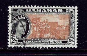 Bahamas 169 Used 1954 issue