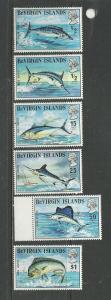 British Virgin Islands # 243-248 Unused HR See Desc