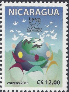NICARAGUA UPAEP CENT POSTAL UNION of AMERICAS SPAIN & PORTUGAL Sc 2516 MNH 2011