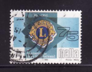 Malta 811 U Lions International (A)