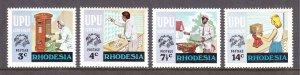 Rhodesia - Scott #348-351 - MNH - SCV $2.05