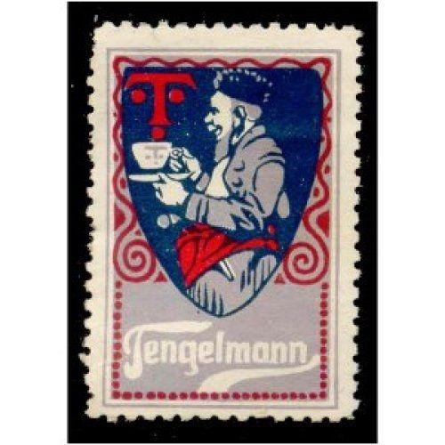 Tengelmann Tea/Coffee Advertising Poster Stamp (#1)
