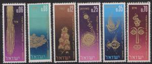 Israel #298 - 303 New Year MNH Singles