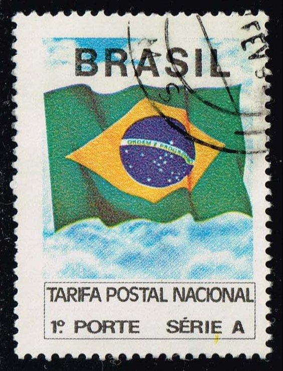 Brazil #2320 Flag of Brazil; Used (0.25)
