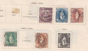 SWITZERLAND^^^^1889-05  Rarer HELVETIAS CLASSICS    $$@ta447swiss