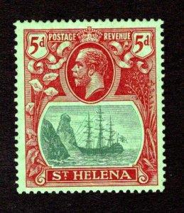 ST. HELENA  SC# 84  FVF/MLH