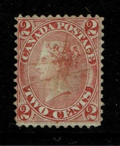 Canada SC# 20 Used / Well Centered / Pen Cancel - S11177