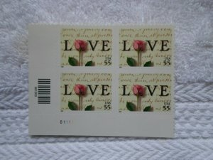 SC # 3499 55 CENTS LOVE SELF ADHESIVE ( MNH )