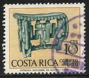 Costa Rica Air Mail 1963 Scott# C379 Used