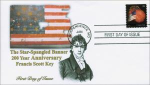 2014 Star-Spangled Banner, Francis Scott Key, FDC  Item 14-012