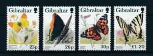 [98657] Gibraltar 1997 Insects Butterflies Schmetterlingen  MNH