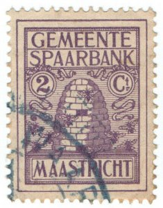 (I.B) Netherlands Revenue : Maastricht Savings Stamp 5c (Beehive)