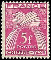 France - J77 - MNH - (Penciled Back) - SCV-0.60