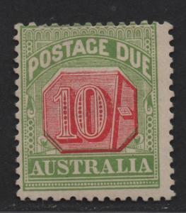 $Australia Sc#J48 M/A-F, Cv. $450