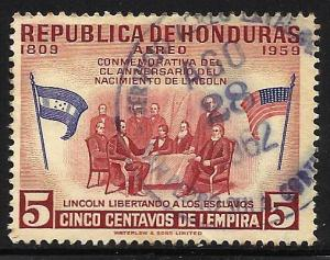 Honduras Air Mail 1959 Scott# C292 Used