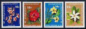 French Polynesia - Scott #300-303 - MLH - SCV $9.00