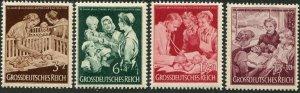 Deutsches Reich   Sc.# B253-6   MNH**