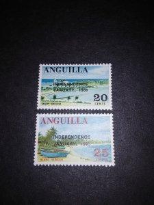 ^Anguilla #61-62**