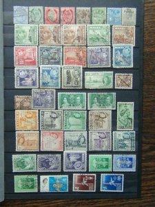 Malta QV - QE2 range 1938 values to 1s 1956 values to 1/6 Used