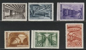 RUSSIA #1153-8 MINT LIGHTLY HINGED COMPLETE